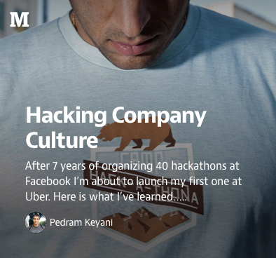 Hacking Company Culture